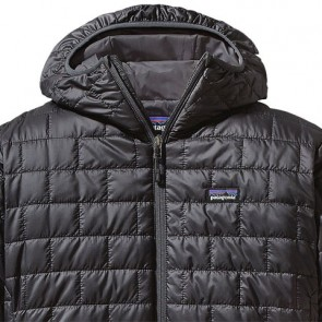 Patagonia Nano Puff Hoody Jacket - Forge Grey
