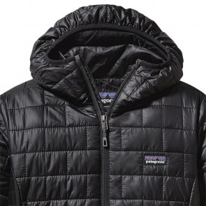 Patagonia Women's Nano Puff Hoody Jacket - Black