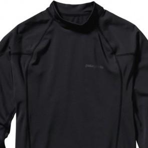Patagonia Wetsuits R0 Long Sleeve Rash Guard - Black/Forge Grey