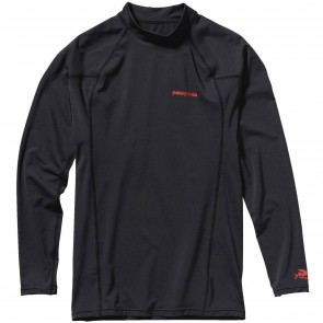 Patagonia Wetsuits R0 Long Sleeve Rash Guard - Black