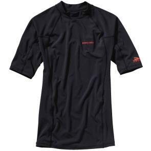 Patagonia Wetsuits R0 Short Sleeve Rash Guard - Black