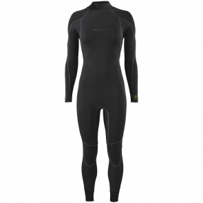 Patagonia Women's R3 Yulex 4.5/3.5 Back Zip Wetsuit - Black