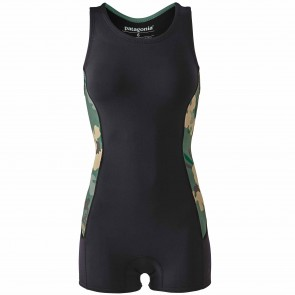 Patagonia Women's R1 Lite Yulex 1.5mm Spring Jane Wetsuit - Cloudbreak/Hemlock Green