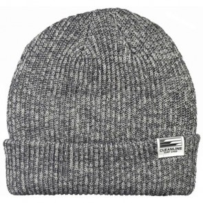 Cleanline Beanie - Black/White