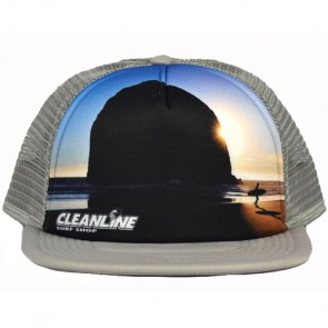 Cleanline Haystack Trucker Hat - Grey