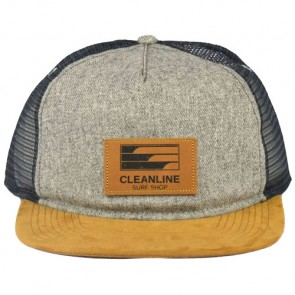 Cleanline Lines Hat - Charcoal Heather