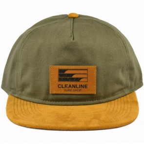 Cleanline Lines Hat - Olive