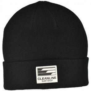 Cleanline Beanie - Black