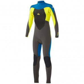Quiksilver Youth Syncro 4/3 Back Zip Wetsuit - 2014