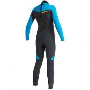 Quiksilver Youth Syncro 5/4/3 Back Zip Wetsuit - 2015