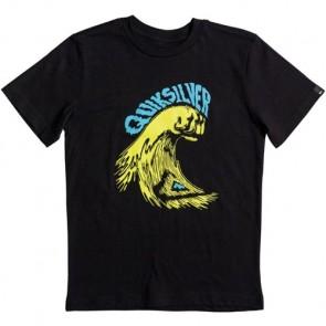 Quiksilver Youth Wavepunch T-Shirt - Black