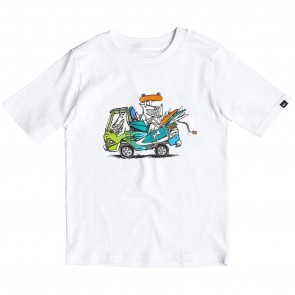 Quiksilver Youth Happy Days T-Shirt - White