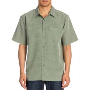 Quiksilver Centinela 4 Short Sleeve Shirt - Shadow
