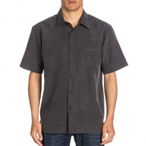 Quiksilver Centinela 4 Short Sleeve Shirt - Black