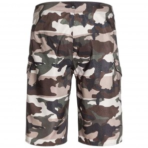 Quiksilver Manic Camo 22 Boardshorts - Forest Night
