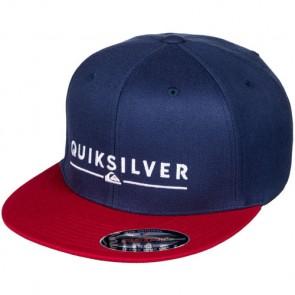 Quiksilver Beeliner Flexfit Hat - Navy Blazer