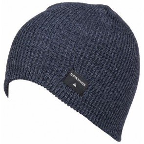 Quiksilver Cushy Beanie - Navy Blazer Heather