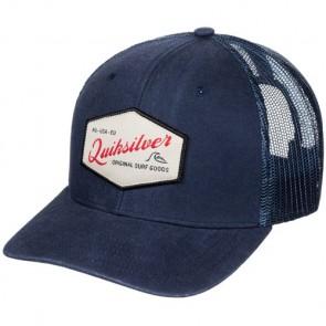 Quiksilver Setstearn Trucker Hat - Navy Blue