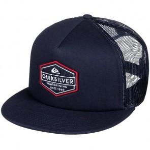 Quiksilver Marbleson Trucker Hat - Navy Blazer