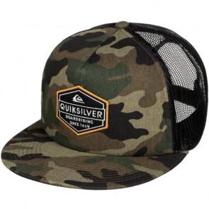 Quiksilver Marbleson Trucker Hat - Camo