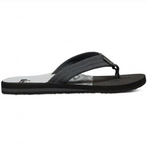 Quiksilver Carver Suede Art Sandals - Black/Grey