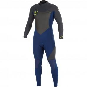 Quiksilver Syncro 3/2 Back Zip Wetsuit - 2015