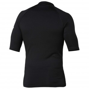 Quiksilver Wetsuits All Time S/S Rash Guard - Black