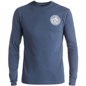 Quiksilver Zing Zang Long Sleeve T-Shirt - Nightshadow Blue