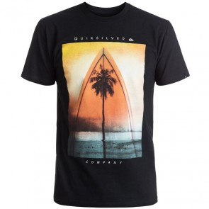 Quiksilver Sweet Lines T-Shirt - Black