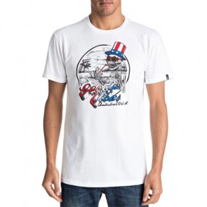 Quiksilver Cheers T-Shirt - White