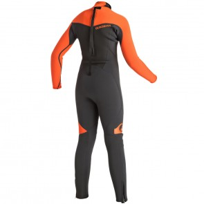 Quiksilver Youth Syncro 3/2 Flatlock Back Zip Wetsuit