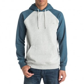 Quiksilver Everyday Hoodie - Indian Teal Heather
