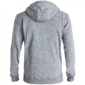 Quiksilver Keller Zip-Up Hoodie - Light Grey Heather