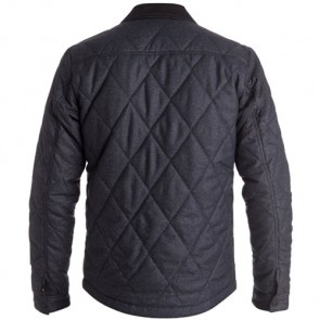 Quiksilver Marbling Quilted Jacket - Dark Grey Heather