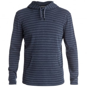 Quiksilver Ocean Surface Long Sleeve Hooded Top - Navy Blazer Heather