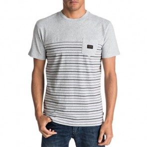 Quiksilver Full Tide Update T-Shirt - Light Grey Heather