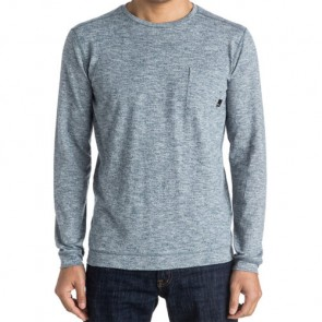 Quiksilver Lindow Lightweight Sweater - Dark Denim Heather