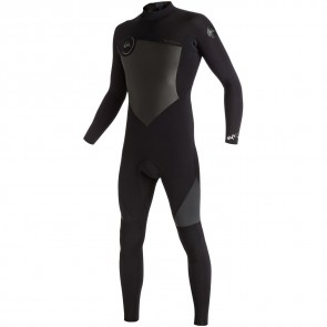 Quiksilver Syncro 5/4/3 Back Zip Wetsuit - Black