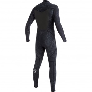 Quiksilver Syncro High Dye 3/2 Chest Zip Wetsuit