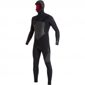 Quiksilver Highline Performance 6/5/4 Hooded Wetsuit - Black