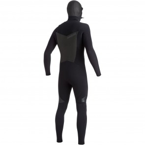 USED Quiksilver Syncro 5/4/3 Hooded Wetsuit - Size MS