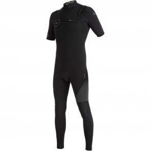 Quiksilver Highline 2/2 Zipperless Short Sleeve Wetsuit - Black