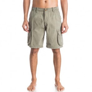Quiksilver Deluxe Cargo Shorts - Dusty Olive