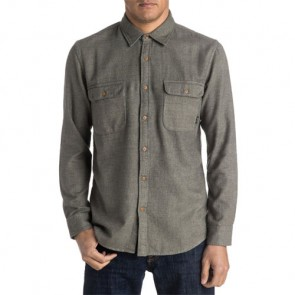 Quiksilver The Captaincy Flannel - Dusty Olive