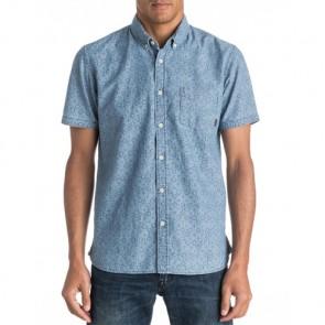 Quiksilver Spectrum Rips Short Sleeve Shirt - Indigo