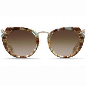 Raen Women's Pogue Sunglasses - Lunar Quartz/Brown Gradient