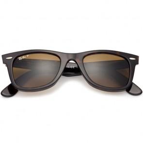 Ray-Ban Original Wayfarer Classic Polarized Sunglasses - Tortoise/Crystal Brown