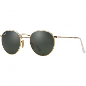 Ray-Ban Round Metal Sunglasses - Arista/Crystal Green