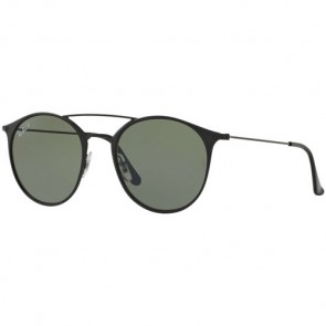 Ray-Ban RB3546 Polarized Sunglasses - Black/Green