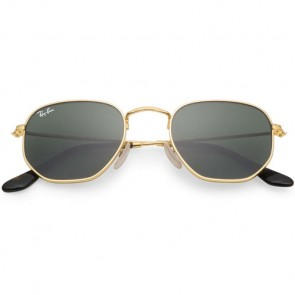 Ray-Ban RB3548 Sunglasses - Gold/Green